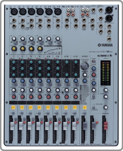 Enoikiash konsolas Yamaha MW12CXU