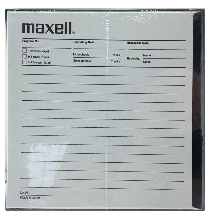 Maxell UDXL 3590Back